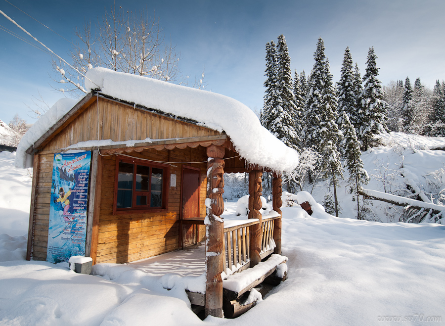 Снежное изобилие