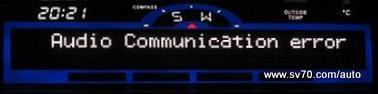 Audio Communication Error