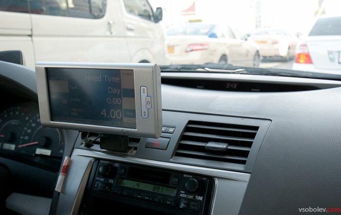 Компьютер в такси