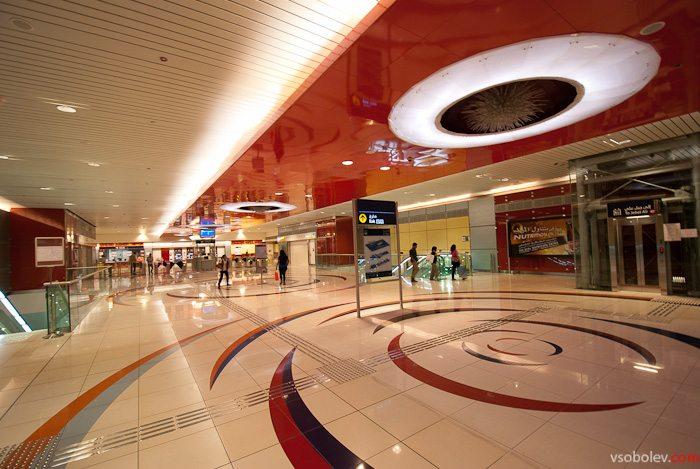 Дубайское метро хороший тому