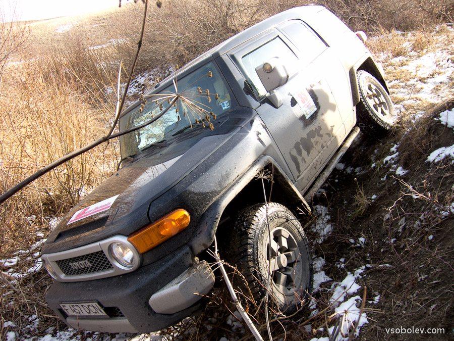 GPS Трофи-ориентирование на джипах «Штурм зимнего». Гонка.