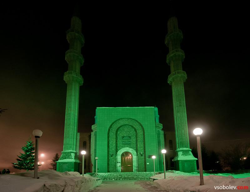 Мечеть на центральной площади