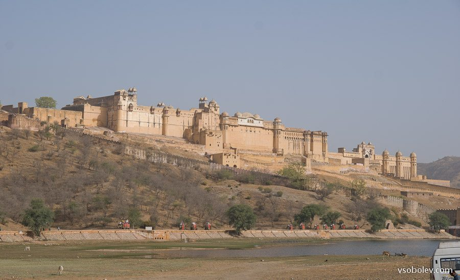 Крепость Амбер Джайпур