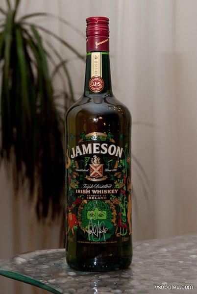 Виски Jameson - новая бутылка?