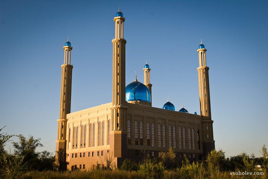 Мечеть в Усть-Каменогорске - фототчет