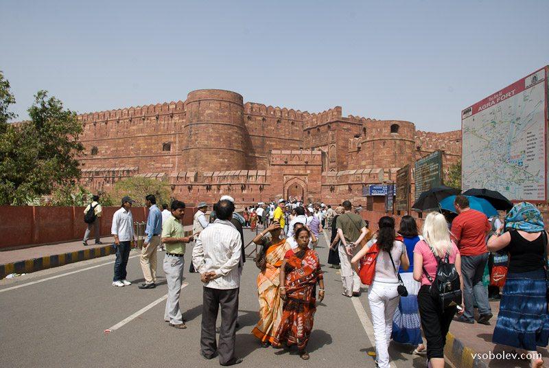 Красный форт Агра