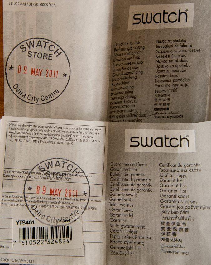 Swatch в Казахстане