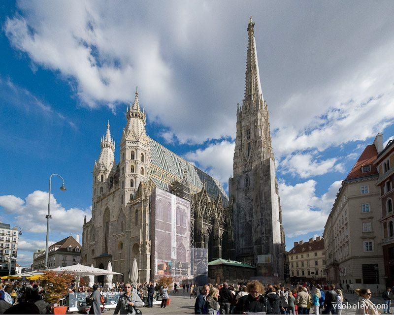 Собор Святого Стефана в Вене и Штефансплац  (Австрия)