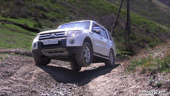 Неудачное видео про блокировки Mitsubishi Pajero IV