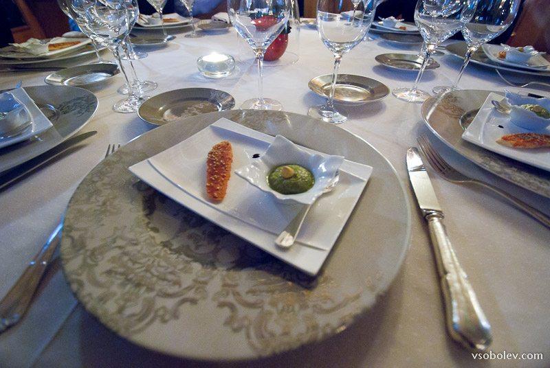 Мишленовский ресторан