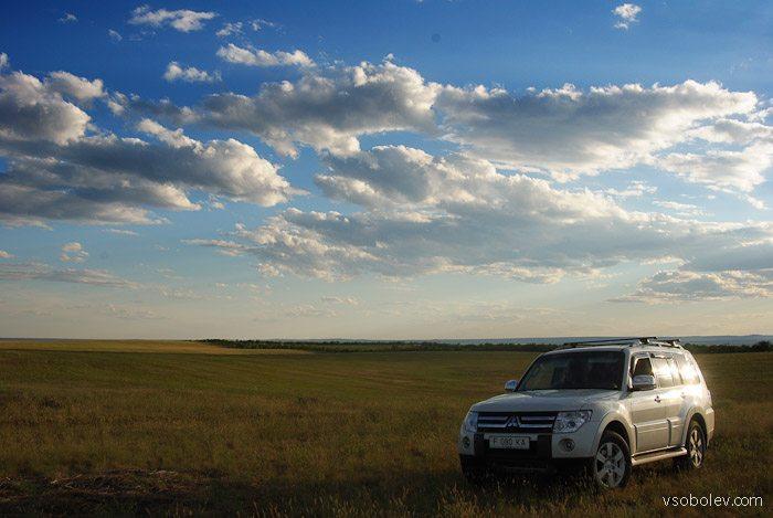 Pajero 4 vs Subaru Outback