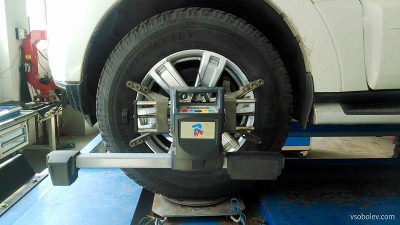 вибрация на руле Pajero 4
