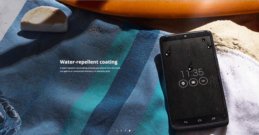 Motorola-droid-turbo-water