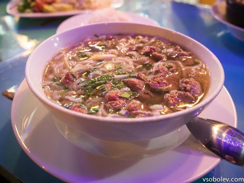 Суп Фо с мясом