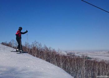 Нуртау - горные лыжи около Астаны