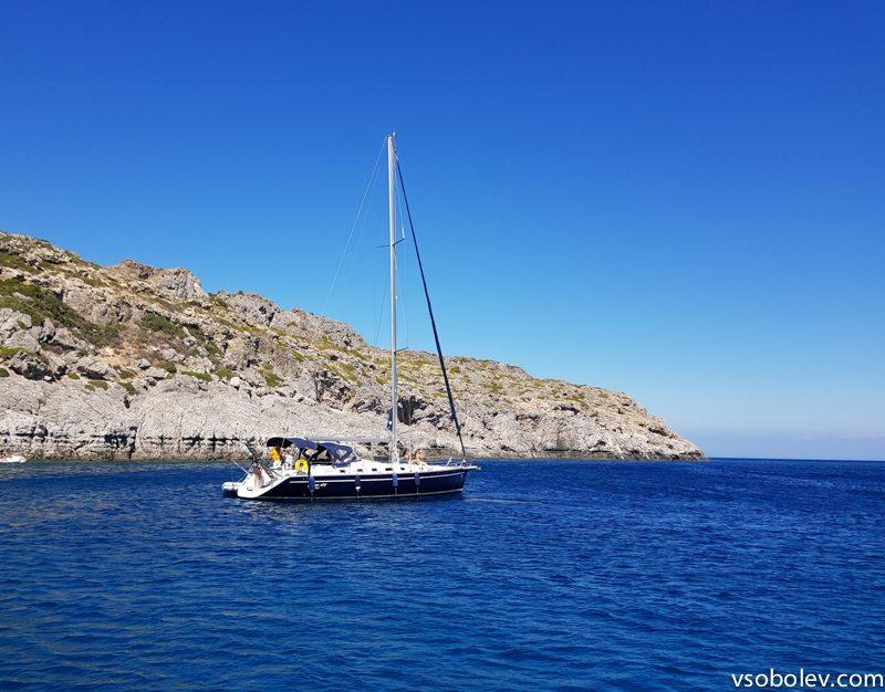 Аренда яхты на Родосе