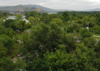 Зеленый Усть-Каменогорск