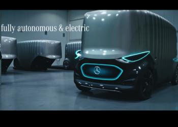 Астана в рекламе Mercedes-Benz