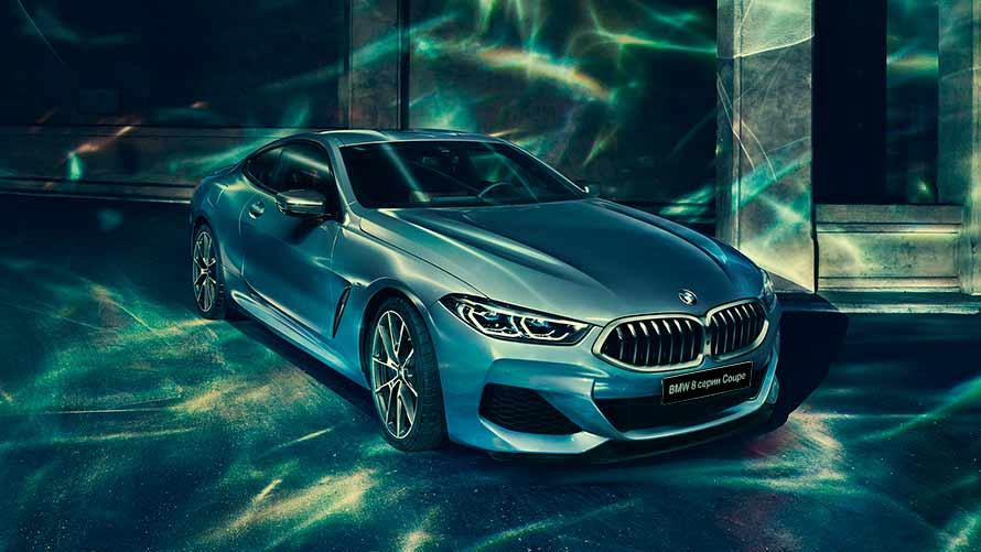 BMW X7 и BMW 840