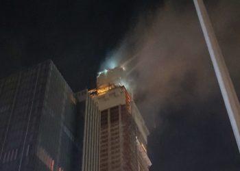 Очередной пожар на Абу-Даби Плаза? (Нет)