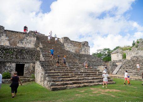 Пирамида Ek Balam и календари индейцев майя