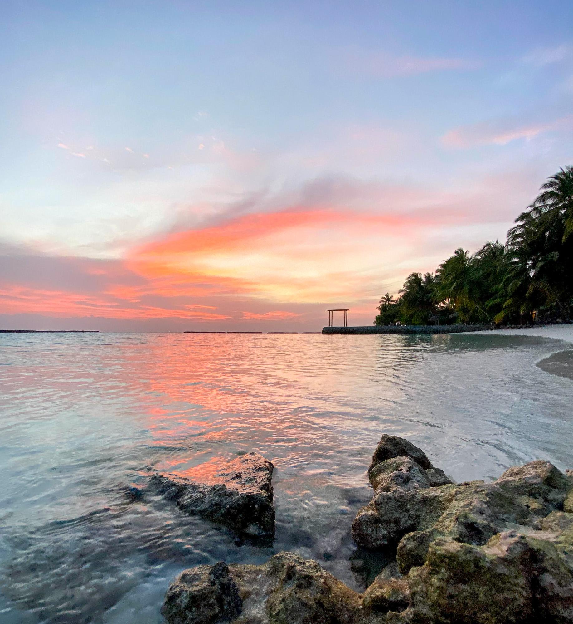 Закаты Курамба Мальдивы 2021