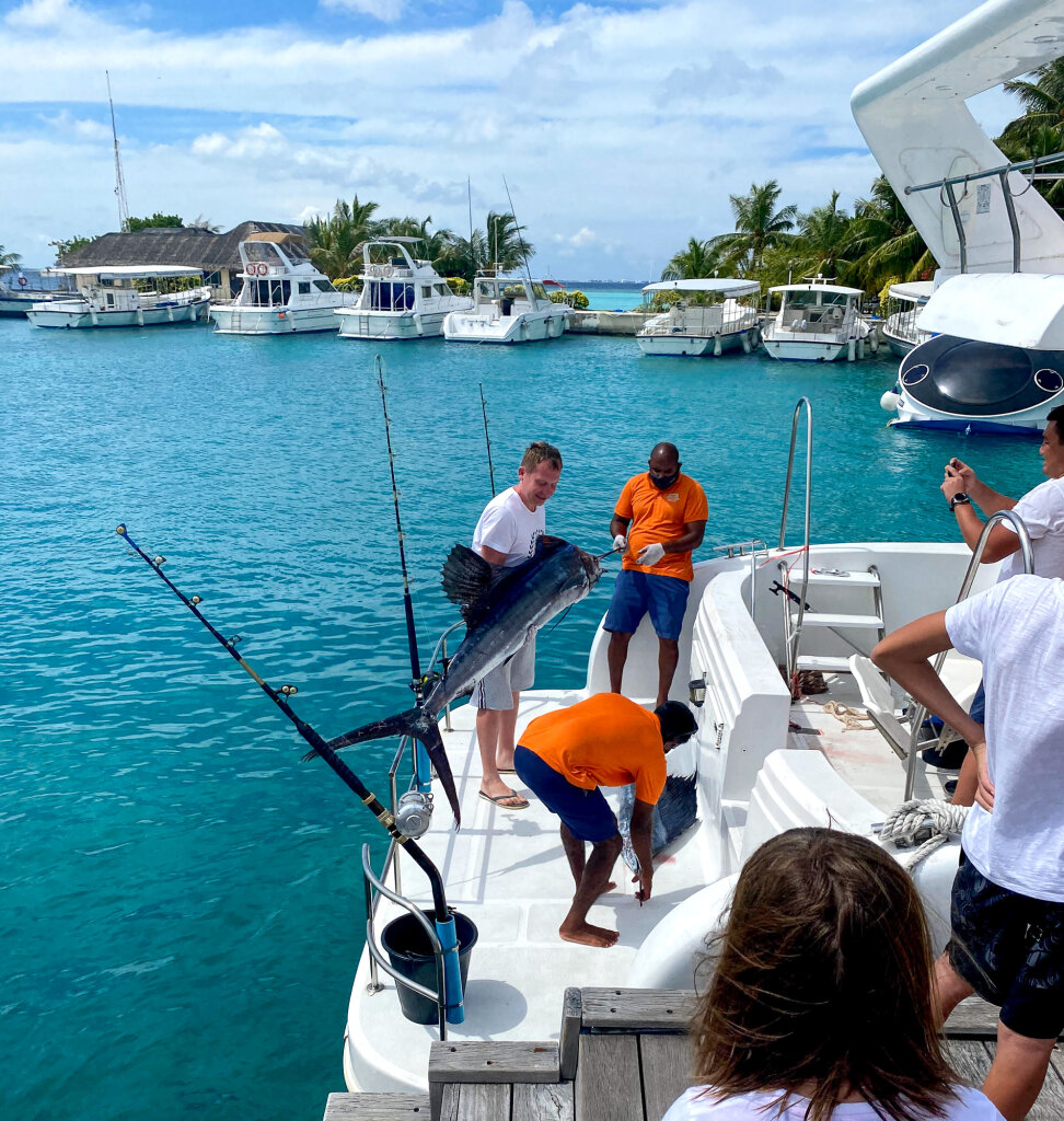 Рыбалка Курамба Мальдивы 2021