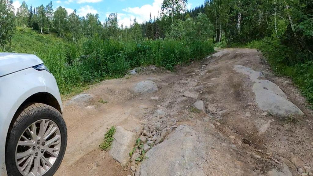 Дорога на малоульбинское водохранилище
