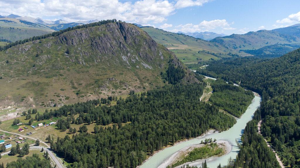 Бухтарминское Озеро и ущелье Чиндагатуй