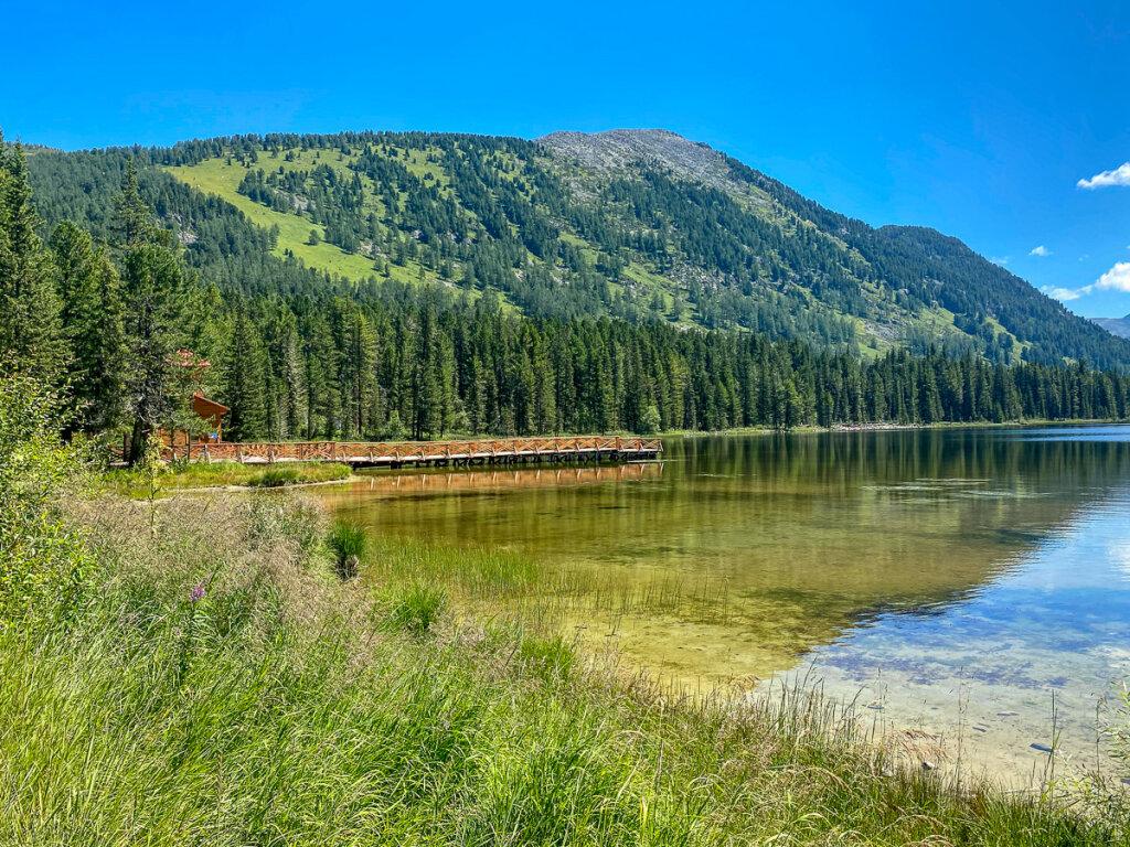 Рахмановское озеро и Рахмановские ключи