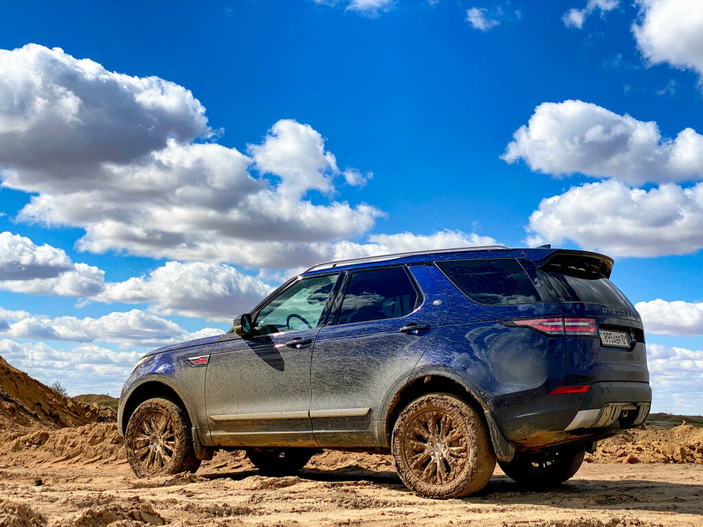 Засадил Land Rover Discovery 5