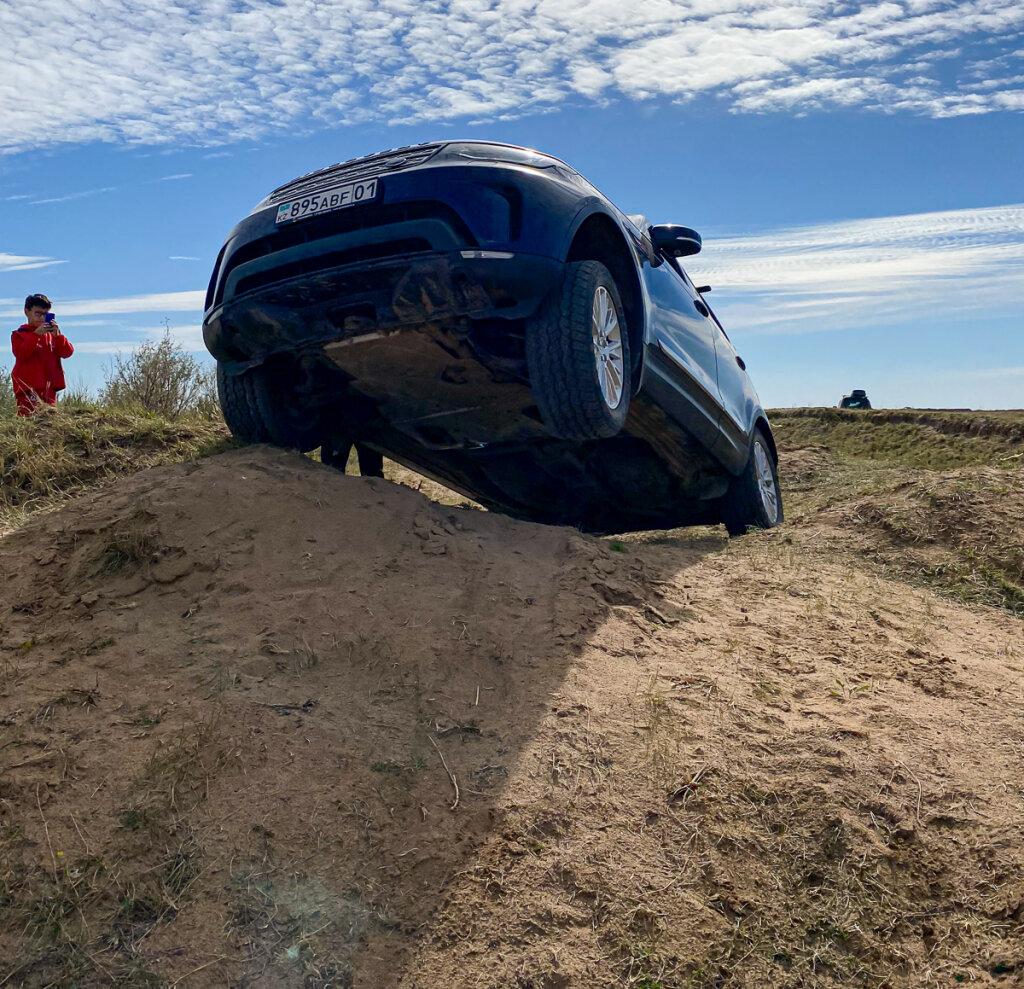 LandRover Discovery 5, Pajero 4, TLC Prado - в стоке на off road
